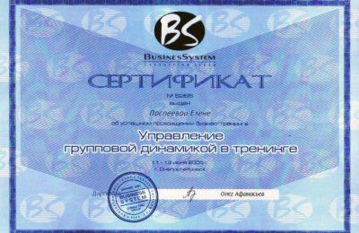 сертификат_управление групповой динамикой